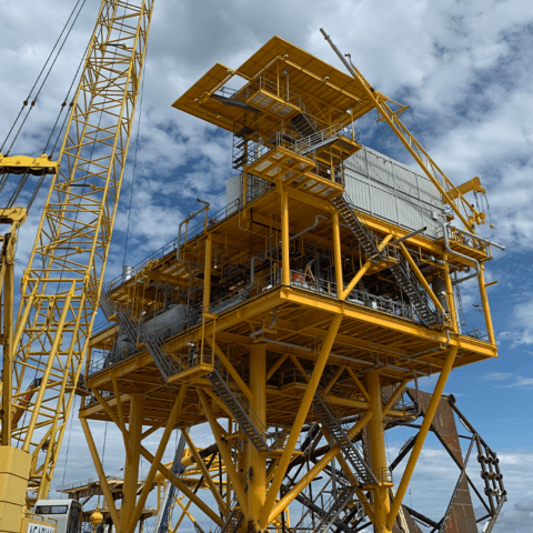 "Byron Energy completes its SM58 ""G"" Platform installation on schedule and incident free"